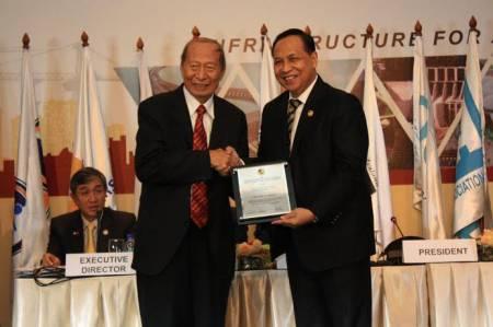 Ir. Ciputra Raih Penghargaan dari Asosiasi Kontraktor Asia Pasifik