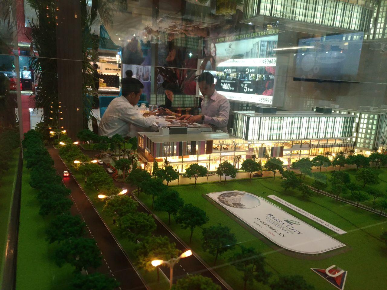 Konsep Terpadu Barsa City Yogyakarta