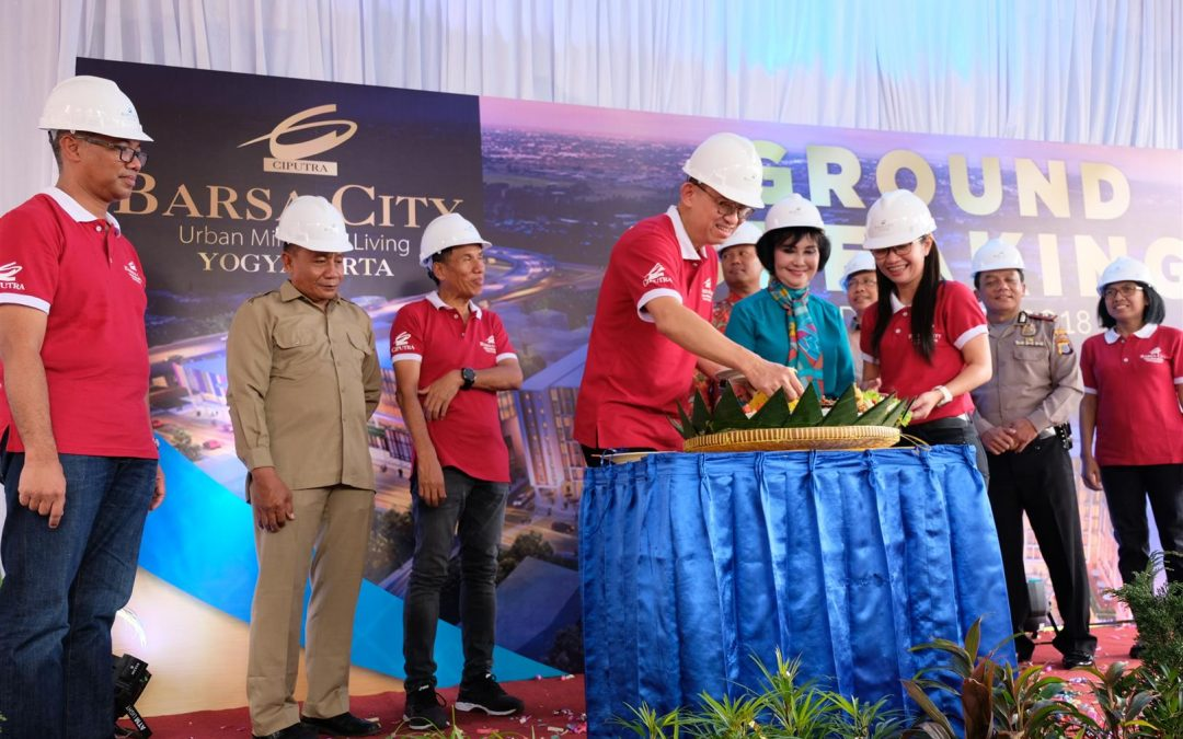 Ground Breaking Ceremony Barsa City Yogyakarta