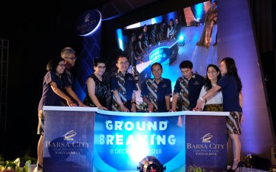 Ground Breaking Celebration Barsa City Yogyakarta